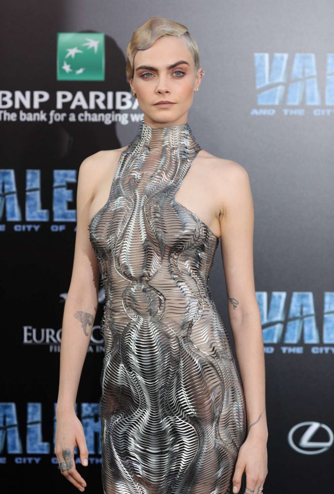Cara Delevingne - 'Valerian and The City of a Thousand Planets' Premiere in Hollywood