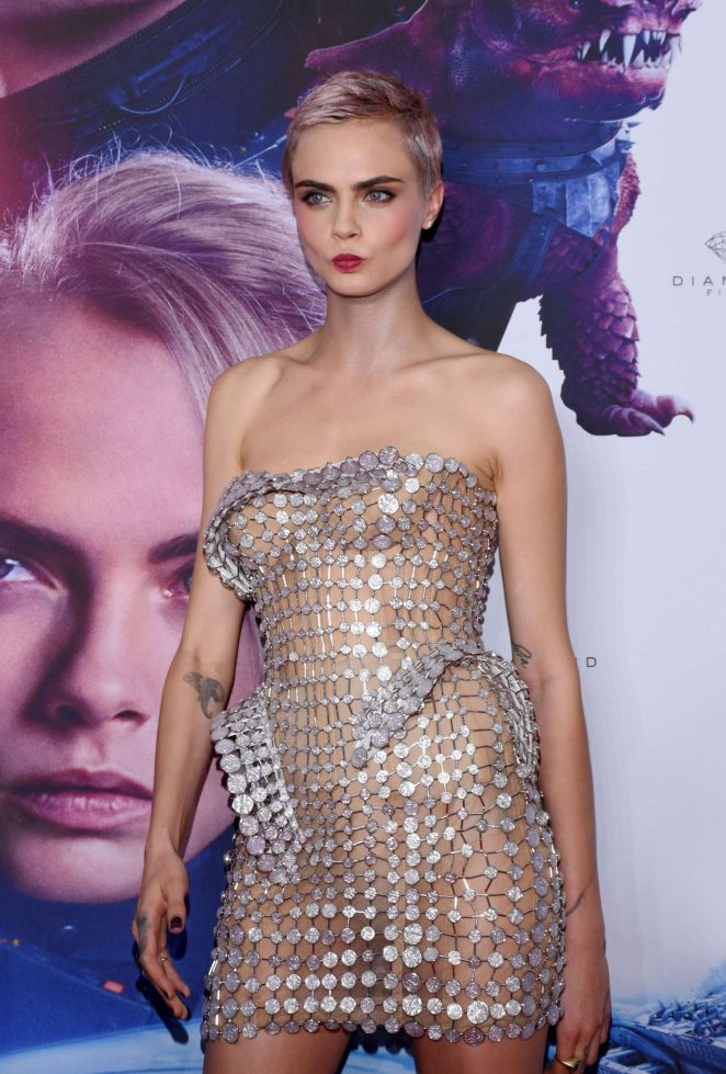 Cara Delevingne - 'Valerian and the City of a Thousand Planets' Premiere in Mexico City