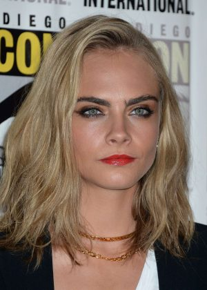 Cara Delevingne - 'Valerian and the City of a Thousand Planets' Press Line at Comic-Con in San Diego