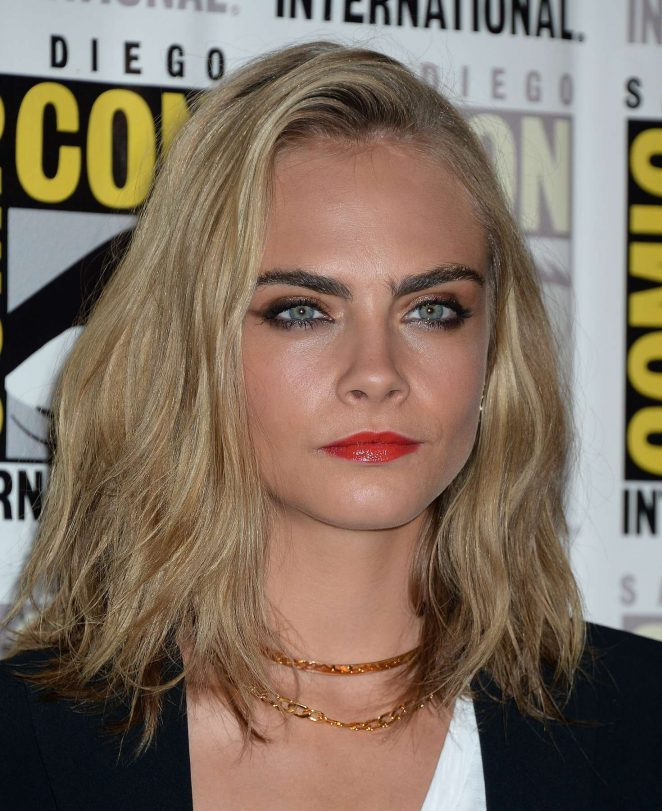Cara Delevingne: Valerian and the City of a Thousand Planets Press Line -05