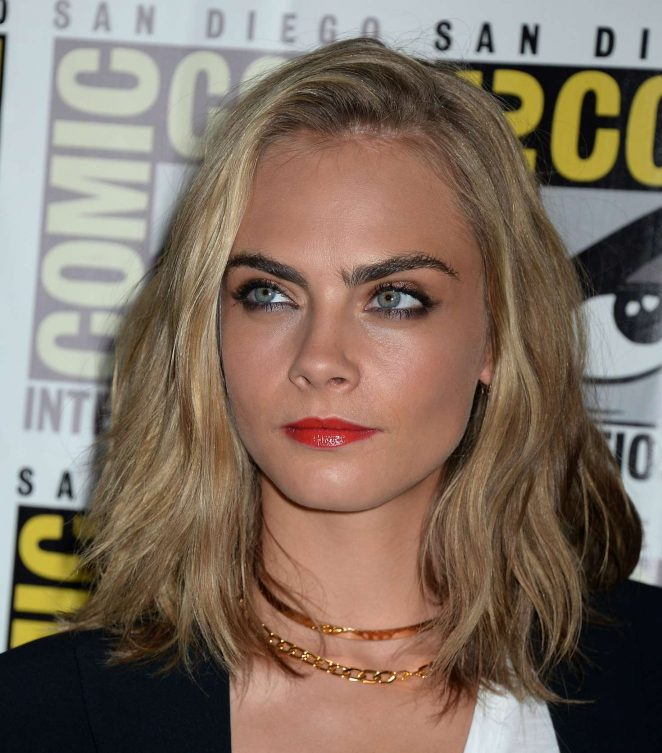 Cara Delevingne: Valerian and the City of a Thousand Planets Press Line -09