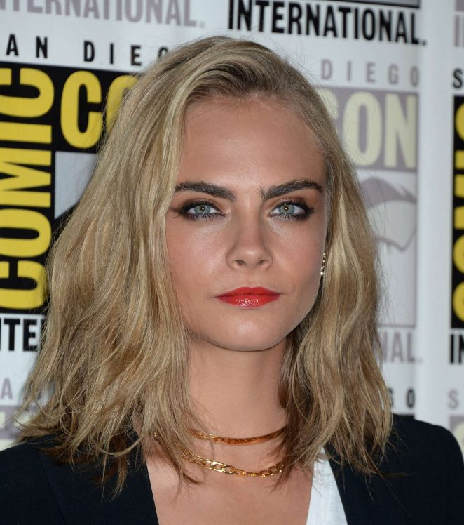 Cara Delevingne: Valerian and the City of a Thousand Planets Press Line -24