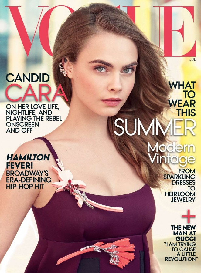 Cara Delevingne - Vogue Magazine (July 2015)