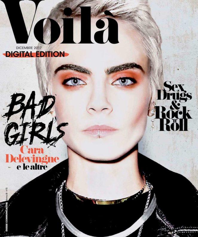 Cara Delevingne - Voila Magazine (December 2017)