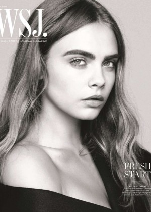 Cara Delevingne - WSJ Magazine (June 2015)