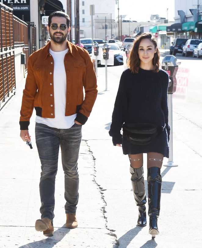 Cara Santana and Jesse Metcalfe – Attend Create Cultivate LA Conference in Los Angeles