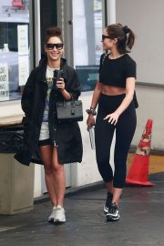 Cara Santana and Olivia Culpo - Seen at the dermatologist in Beverly Hills