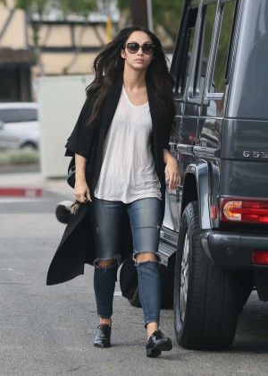 Cara Santana - Arriving at a office building in West Hollywood