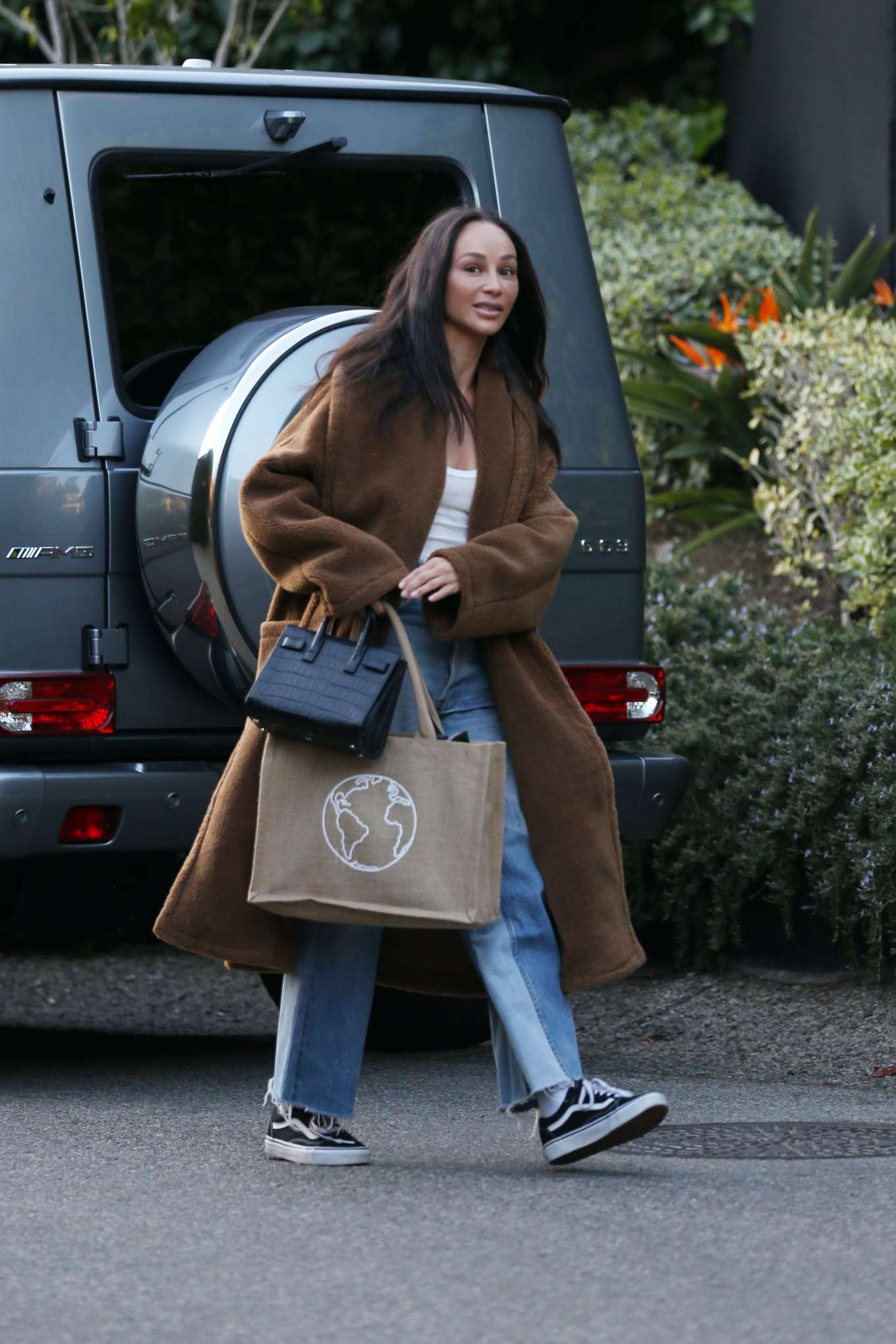 Cara Santana - Carrying Protect Your Motion bag while out and about