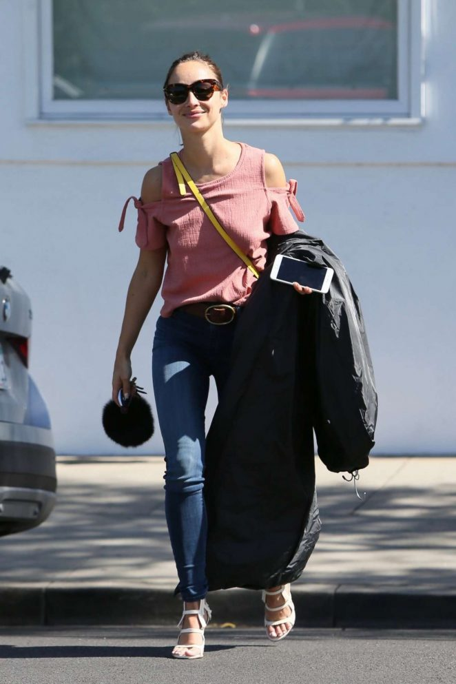 Cara Santana in Jeans out in Los Angeles