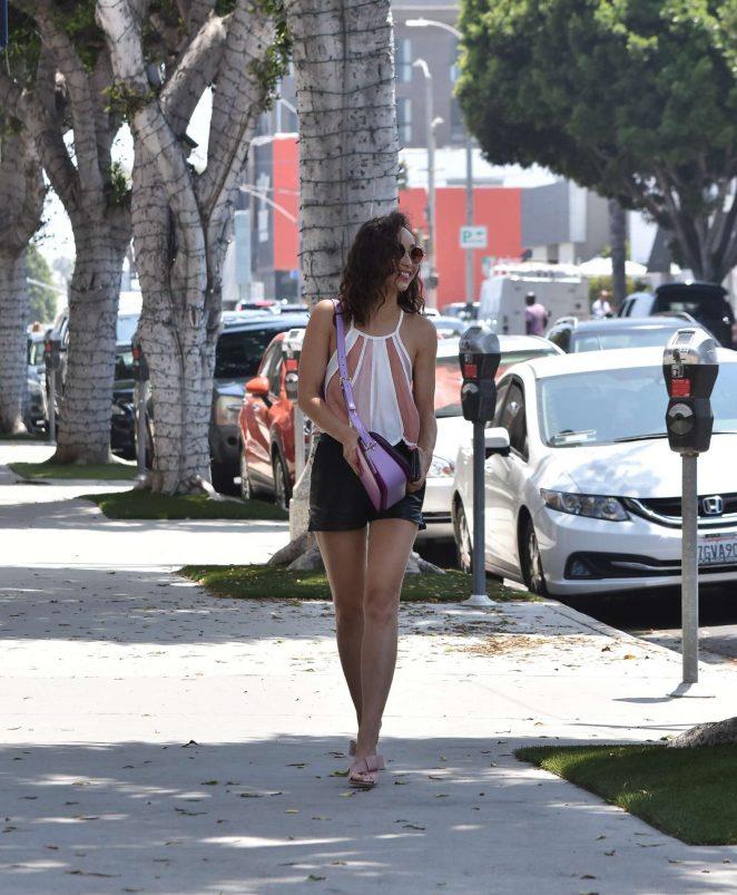 Cara Santana in Shorts -08