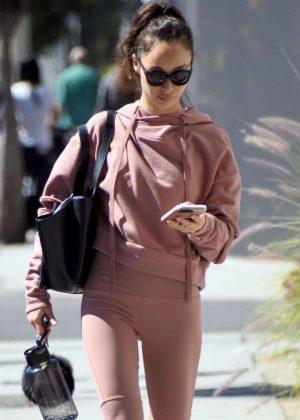 Cara Santana - Leaving a gym in West Hollywood