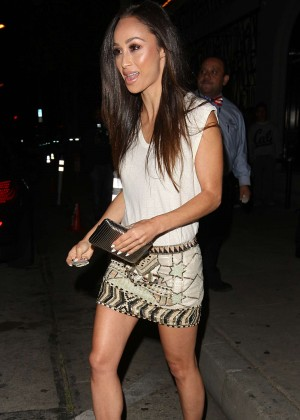 Cara Santana - Leaving Craigs 4th Anniversary Party in Los Angeles