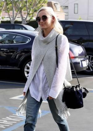 Cara Santana - Leaving Fred Segal in Santa Monica