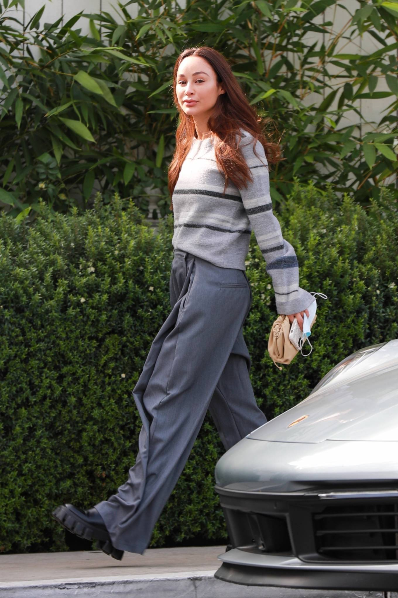Cara Santana - Lunch candids at San Vicente Bungalows in West Hollywood