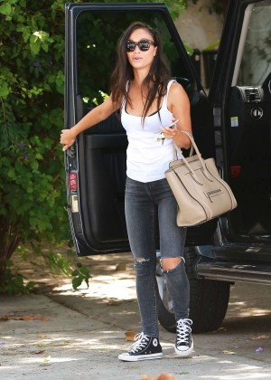 Cara Santana in Tight Jeans Out in Beverly Hills
