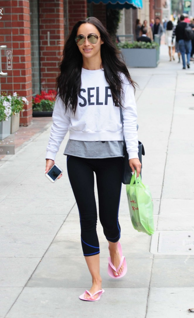 Cara Santana – Out and about in Beverly Hills