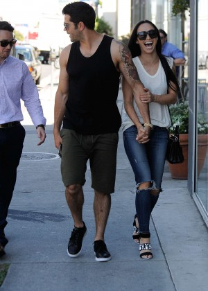 Cara Santana in Ripped Jeans -06