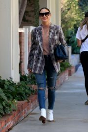 Cara Santana - Out and about on Melrose Place in West Hollywood