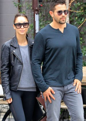 Cara Santana out for breakfast in West Hollywood