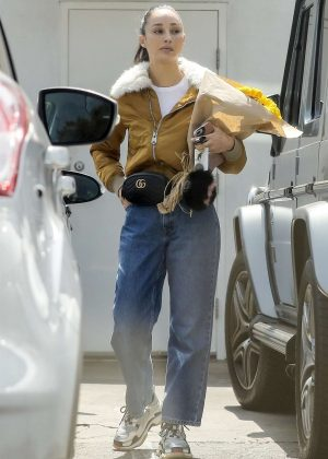 Cara Santana - Out for lunch at M Cafe in West Hollywood