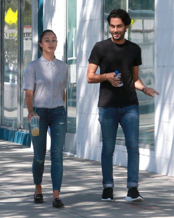 Cara Santana in Ripped Jeans -04