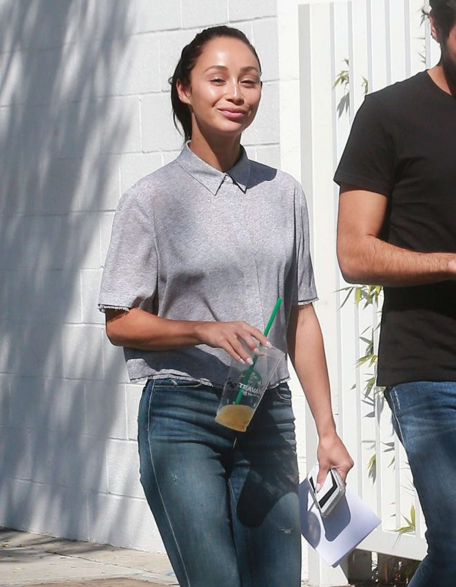 Cara Santana in Ripped Jeans out in West Hollywood