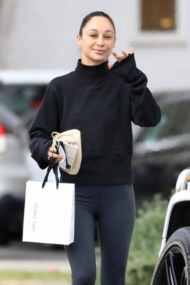 Cara Santana - Out running errands in Hollywood