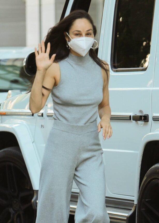 Cara Santana - Running errands in Los Angeles
