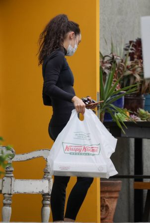 Cara Santana - Seen after a gym session in West Hollywood