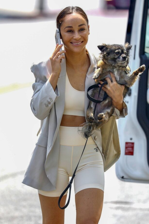 Cara Santana -Seen after hitting the gym in West Hollywood