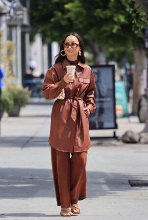 Cara Santana - Seen while grabbing a coffee in West Hollywood