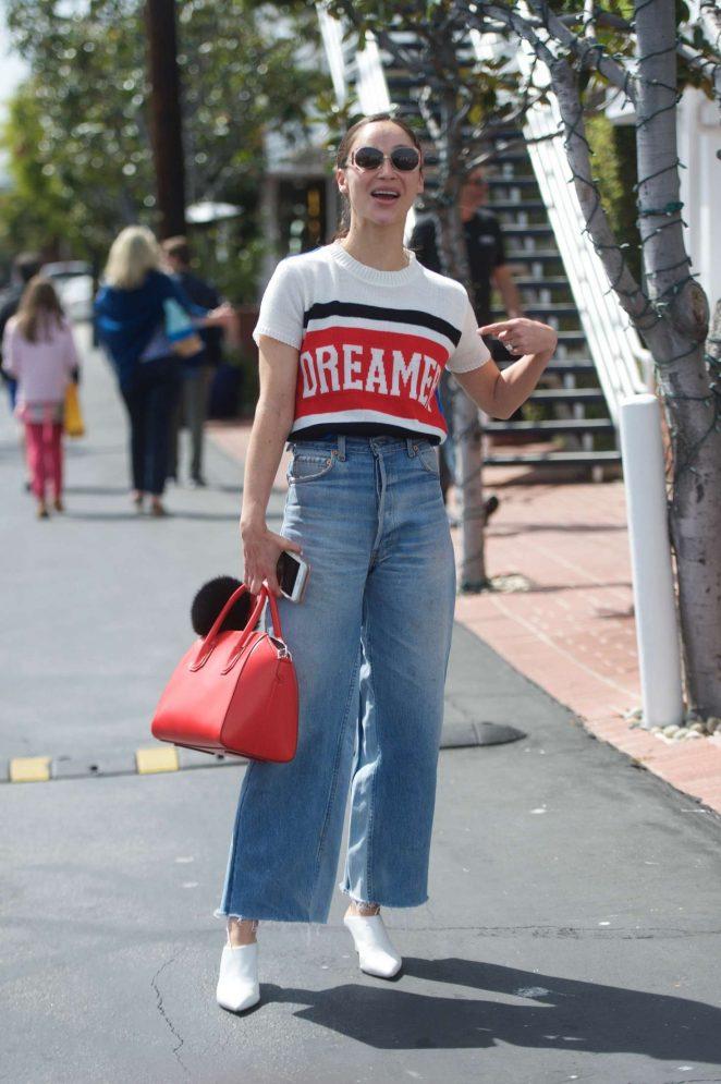 Cara Santana - Shopping at Fred Segal in LA