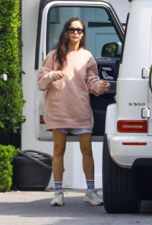 Cara Santana spotted arriving at her home in Beverly Hills