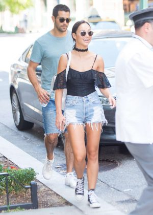 Cara Santana - Walking Their Dogs out in New York City