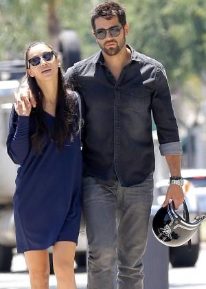 Cara Santana With Boyfriend Out in LA