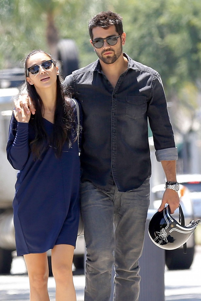 Cara Santana With Boyfriend Out and about in LA
