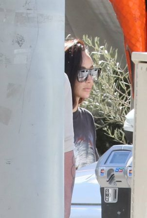 Cara Santana - With boyfriend Shannon Leto are seen in West Hollywood