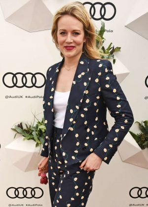 Cara Theobold - Audi Polo Challenge - Day One in Ascot