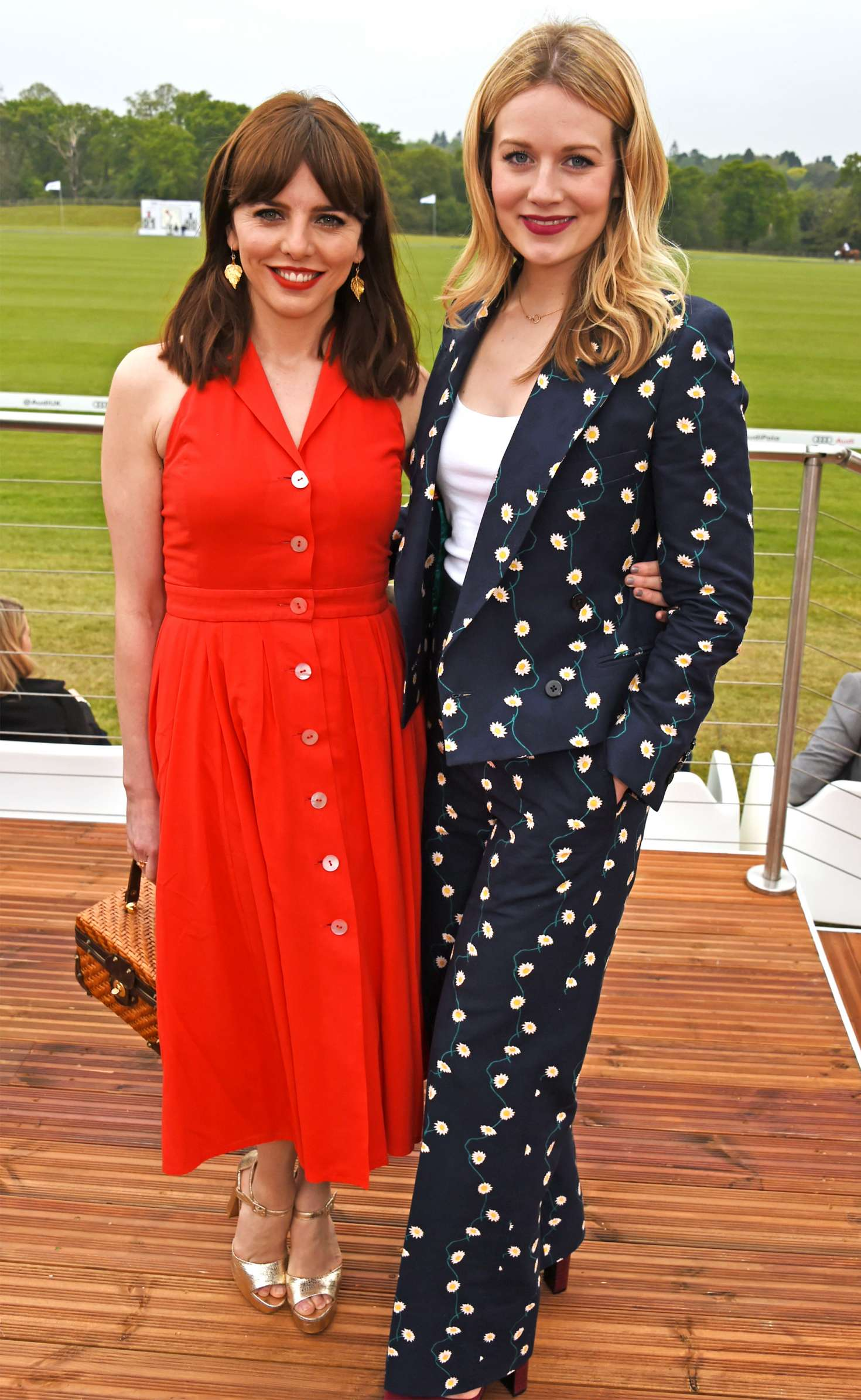 Cara theobold audi polo challenge at ascot uk - 2019 year