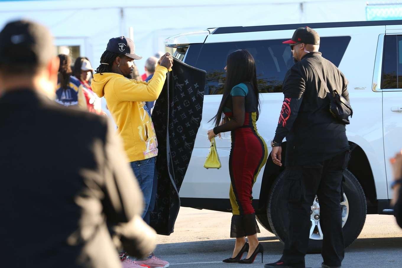 Cardi B 2020 : Cardi B – Arrives at the Super Bowl in Miami-15