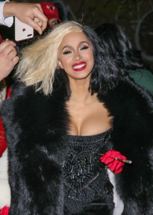 Cardi B - Arriving to a Halloween party in New York City