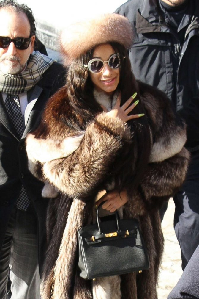 Cardi B at Queens Criminal Court in New York