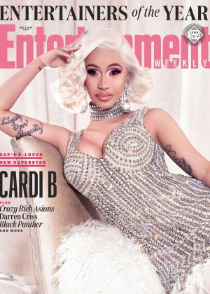 Cardi B - Entertainment Weekly Magazine (December 2018)