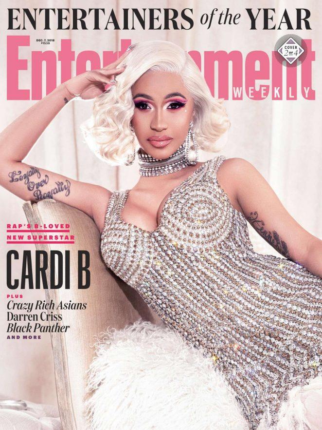 Cardi B - Entertainment Weekly Magazine (December 2018)