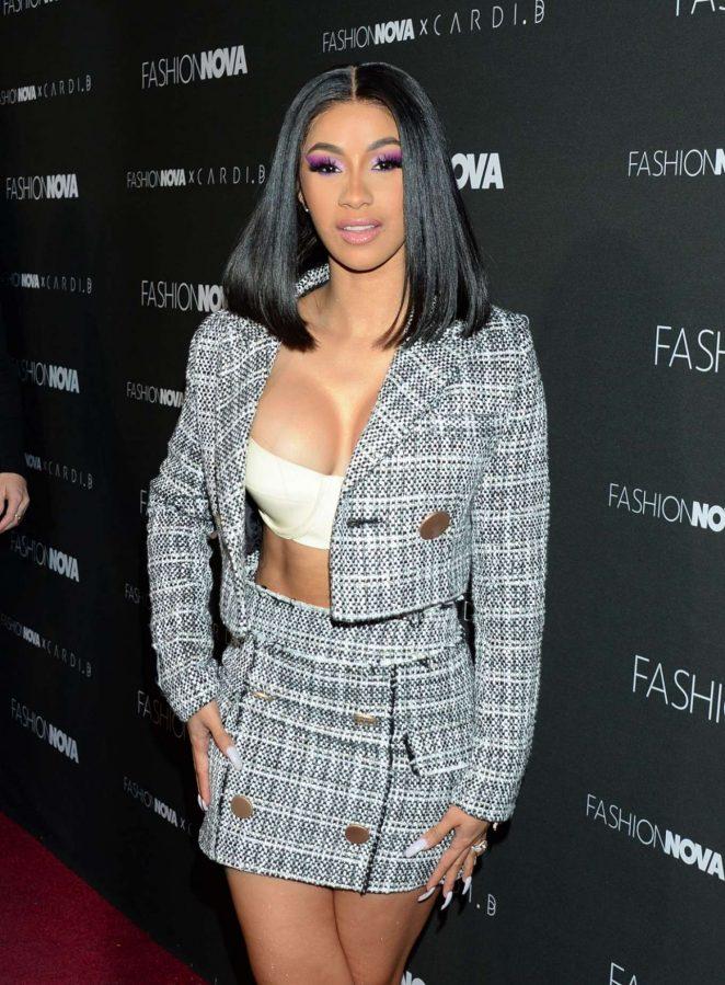 Cardi B - Fashion Nova x Cardi B Event in Hollywood