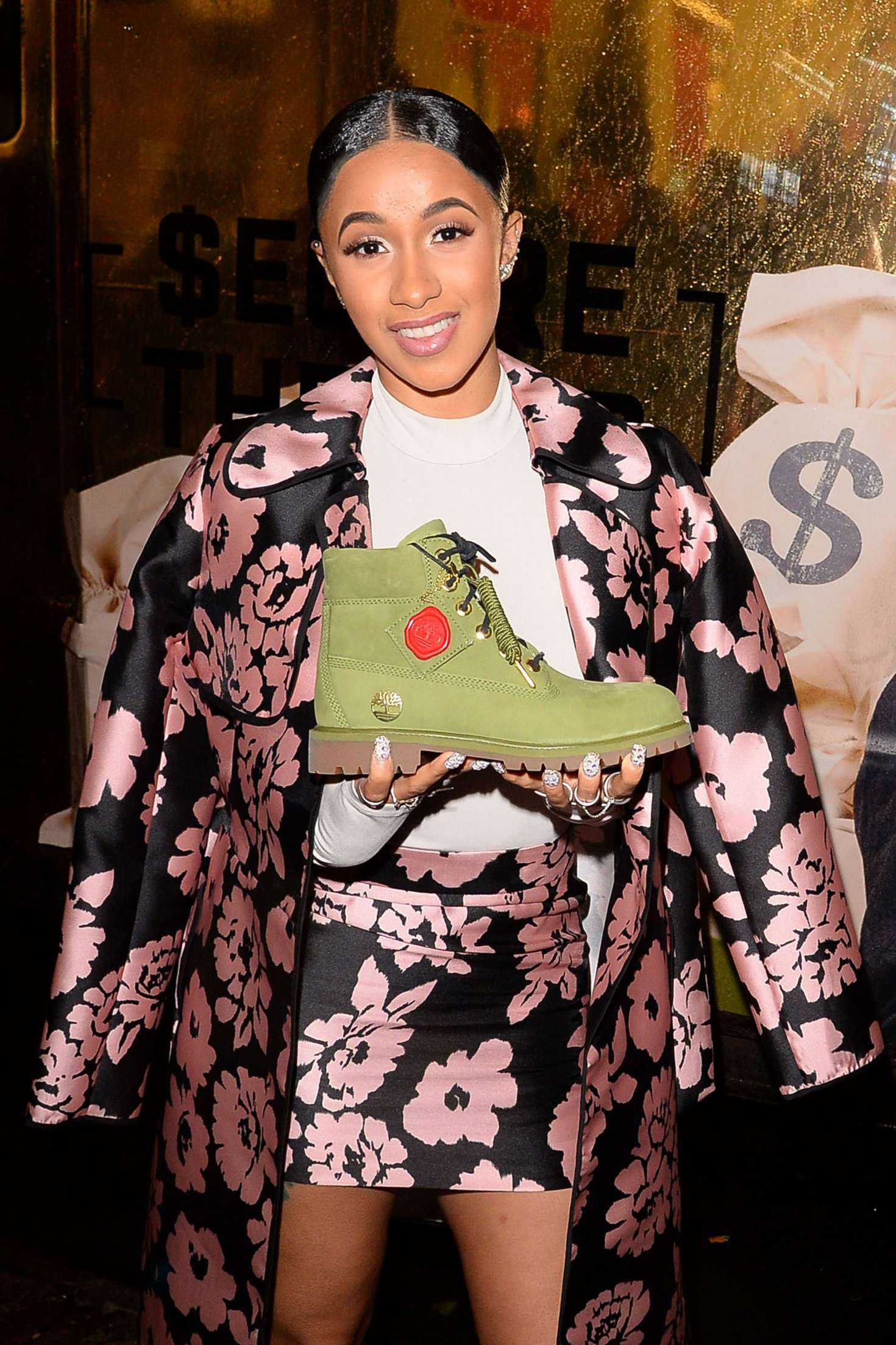 Cardi B - Finishes up her first Facebook Live interview in New York