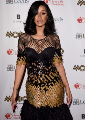 Cardi B - MOBO Awards 2017 in Leeds