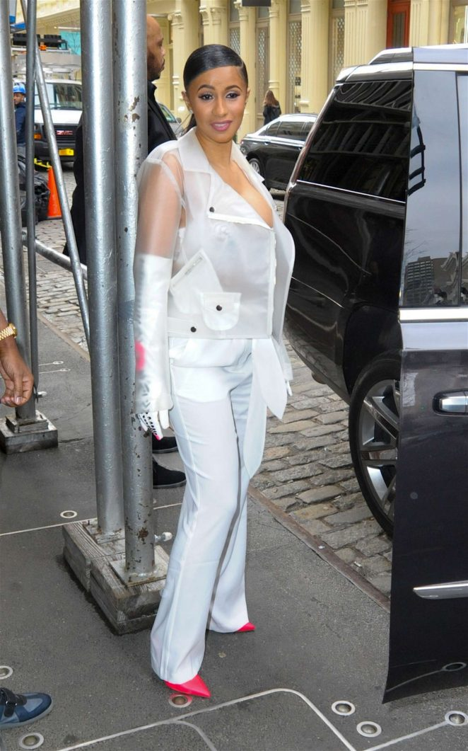 Cardi B out in New York -14