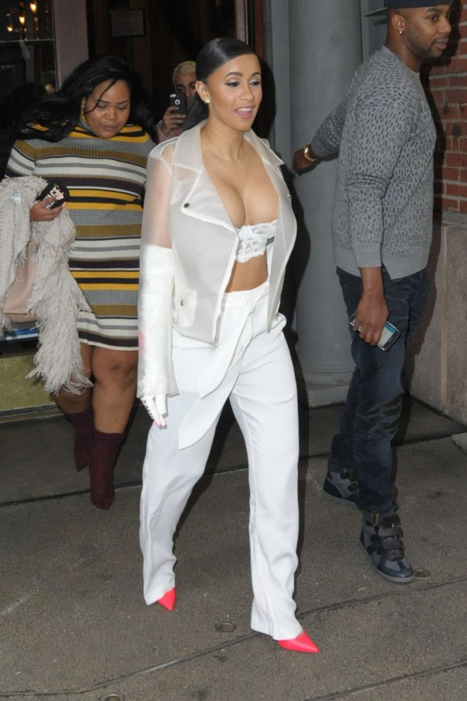 Cardi B out in New York -15
